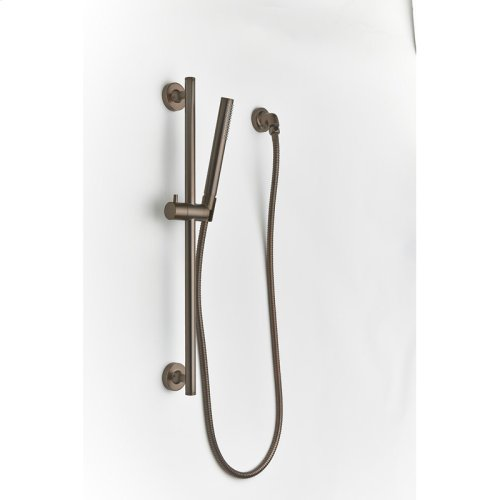 Slide Bar with Hand Shower Taos (series 17) Bronze