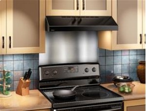 "Broan 200 CFM 30"" wide Undercabinet Range Hood in Black"