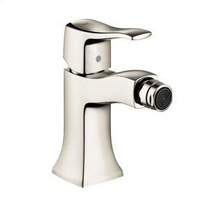 Polished Nickel Single-Hole Bidet Faucet