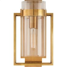 Visual Comfort S2167HAB-CG Ian K. Fowler Presidio 1 Light 8 inch Hand-Rubbed Antique Brass Wall Sconce Wall Light