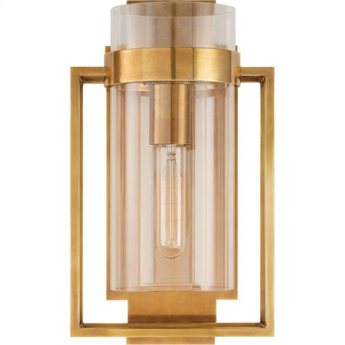 Visual Comfort S2167HAB-CG Ian K. Fowler Presidio 1 Light 8 inch Hand-Rubbed Antique Brass Wall Sconce Wall Light
