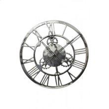 Clock 60 cm SIGN Nickel