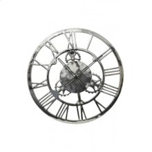 Clock 60 cm SIGN Nickel