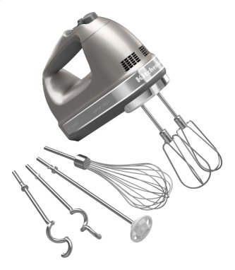 9-Speed Architect Hand Mixer - Cocoa Silver