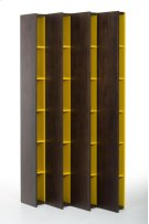 Modrest Heath Modern Brown Oak Bookcase Product Image
