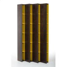 Modrest Heath Modern Brown Oak Bookcase