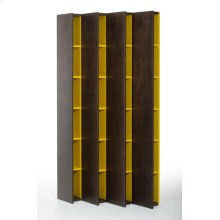 Modrest Heath Modern Brown Oak Bookcase