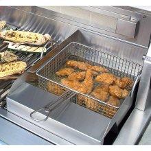 Grill Mounted Steamer/Fryer
