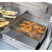 Grill Mounted Steamer/Fryer