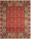 Nourmak Sk93 Rust Rectangle Rug 5'10'' X 8'10''