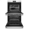 "Fisher & Paykel Double Oven, 30"", 8.2 Cu Ft, 17 Function, Self-Cleaning"
