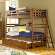 Heartland Twin Bunk Bed Show With Optional Trundle