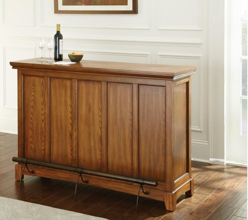 "Martinez Counter Bar Unit, Oak 56"" x 18"" x 38"" (KD)"