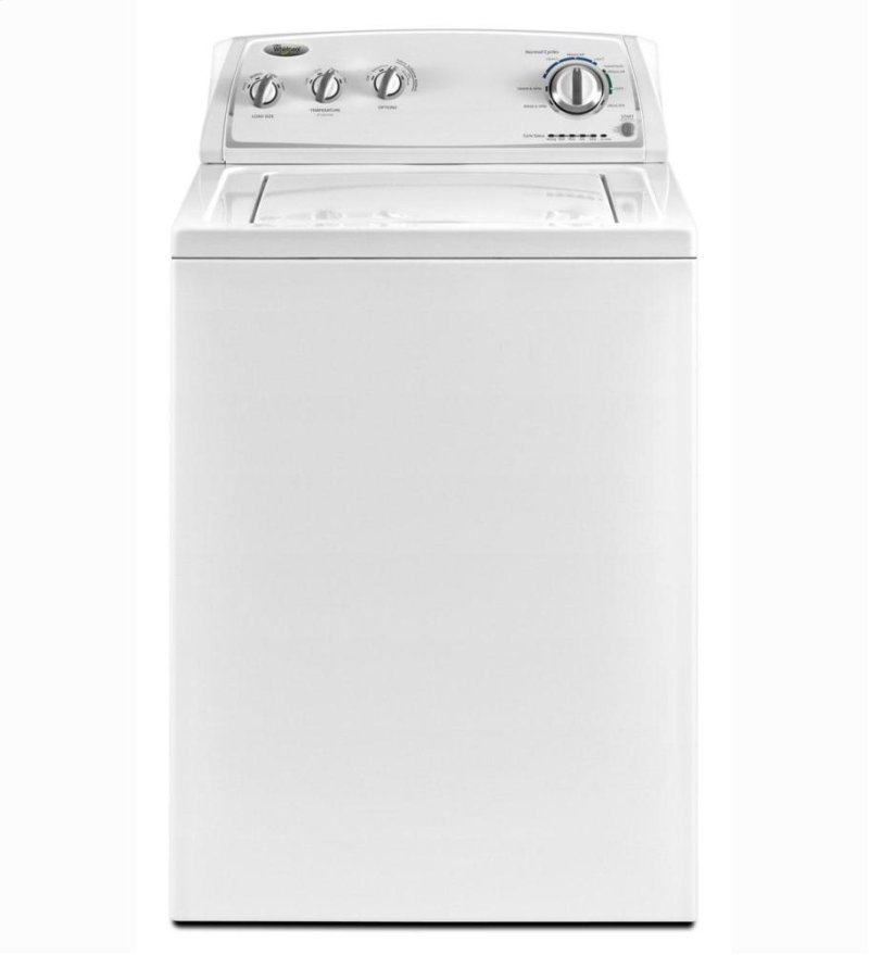 3 4 cu  ft  Traditional Top Load Washer with Care Control Temperature  Management System