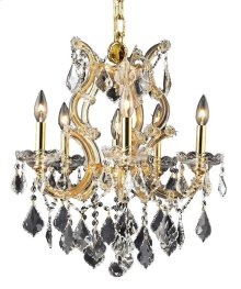 2800 Maria Theresa Collection Hanging Fixture Gold Finish