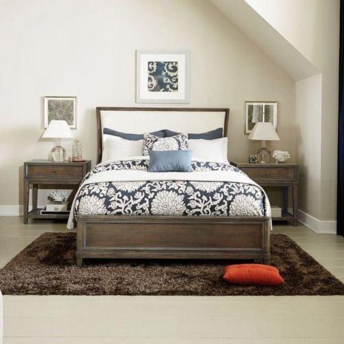 Park Studio California King Uph Sleigh Bed Complete