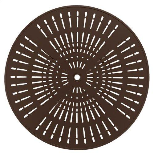 """La'Stratta 36"""" Round KD Pedestal Dining Umbrella Table"""