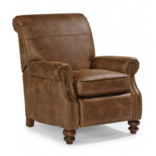 Bay Bridge Nuvo Power High-Leg Recliner with Nailhead Trim