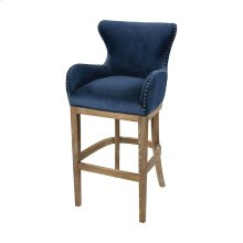 Roxie Navy Bar chair