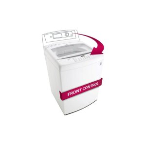 4.5 cu. ft. Ultra Large Capacity Top Load Washer with Front Control Design -