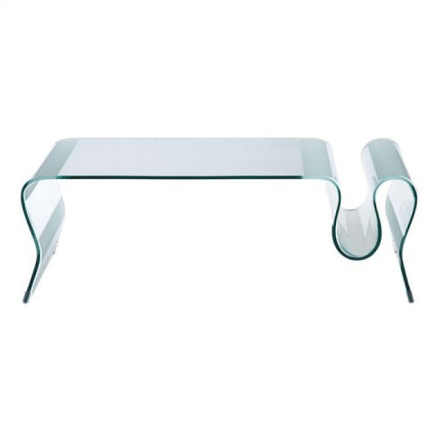 Discovery Coffee Table Clear Glass