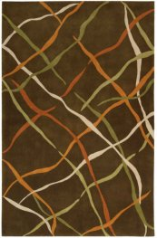 DIMENSIONS ND23 BRN RECTANGLE RUG 1'9'' x 2'9''