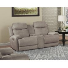 Bowie Doe Power Console Loveseat