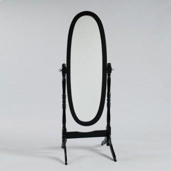 Black Finish Cheval Product Image