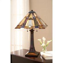 Inglenook Table Lamp in Valiant Bronze