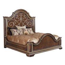 Majorca Panel Bed