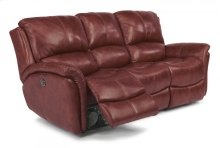 Dominique Leather Power Reclining Sofa