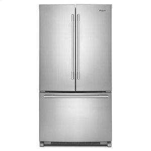 WhirlpoolWhirlpool® 36-inch Wide French Door Refrigerator with Crisper Drawer - 25 cu. ft. - Fingerprint Resistant Stainless Steel