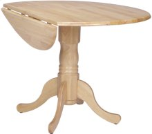 "42"" Complete Drop Leaf Table Natural"
