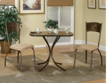 Sunset Trading 3pc Cappuccino Dining Set