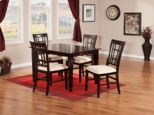 Montego Bay 36x48 Dining Set in Espresso