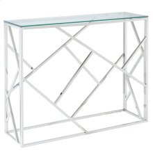 Juniper Console Table in Chrome