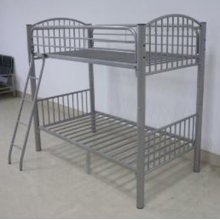 Twin Pewter Econo Bunk Bed