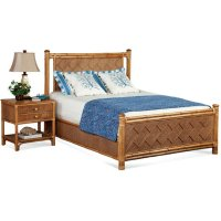 Summer Retreat Chippendale Bedroom Set Product Image