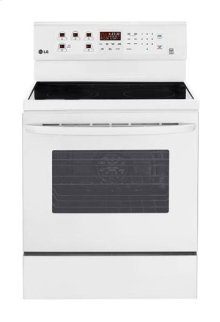 6.3 cu. ft. Capacity Electric Single Oven Range with True Convection and EasyClean®