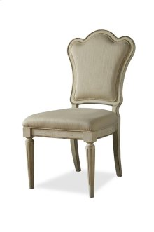 Provenance Upholstered Back Side Chair - Linen