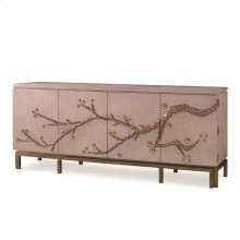 Cherry Blossom Media Cabinet - Oak