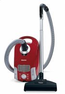 Compact C1 HomeCare PowerLine - SCAE0 canister vacuum cleaners with turbo brush for hard floor and low, medium-pile carpeting. Product Image