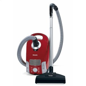 MieleCompact C1 HomeCare PowerLine - SCAE0 canister vacuum cleaners with turbo brush for hard floor and low, medium-pile carpeting.