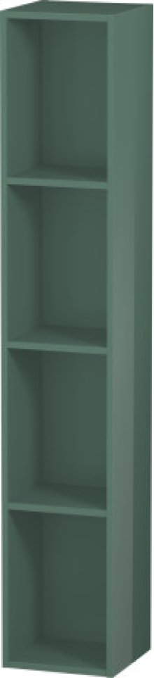Shelf Element (vertical), Jade High Gloss Lacquer