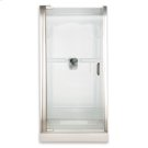 Custom Euro Frameless Pivot Shower Door - Gold Product Image