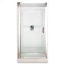 Custom Euro Frameless Pivot Shower Door - Gold Product Image