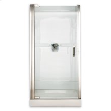 Custom Euro Frameless Pivot Shower Door - Gold
