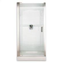 Custom Euro Frameless Pivot Shower Door - Gold