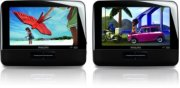 "Philips Portable DVD Player PD7016 17.8 cm (7"") LCD Dual DVD players Product Image"