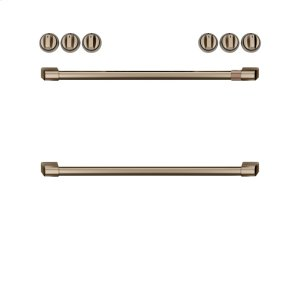 GEFront Control Electric Knobs and Handles - Brushed Bronze